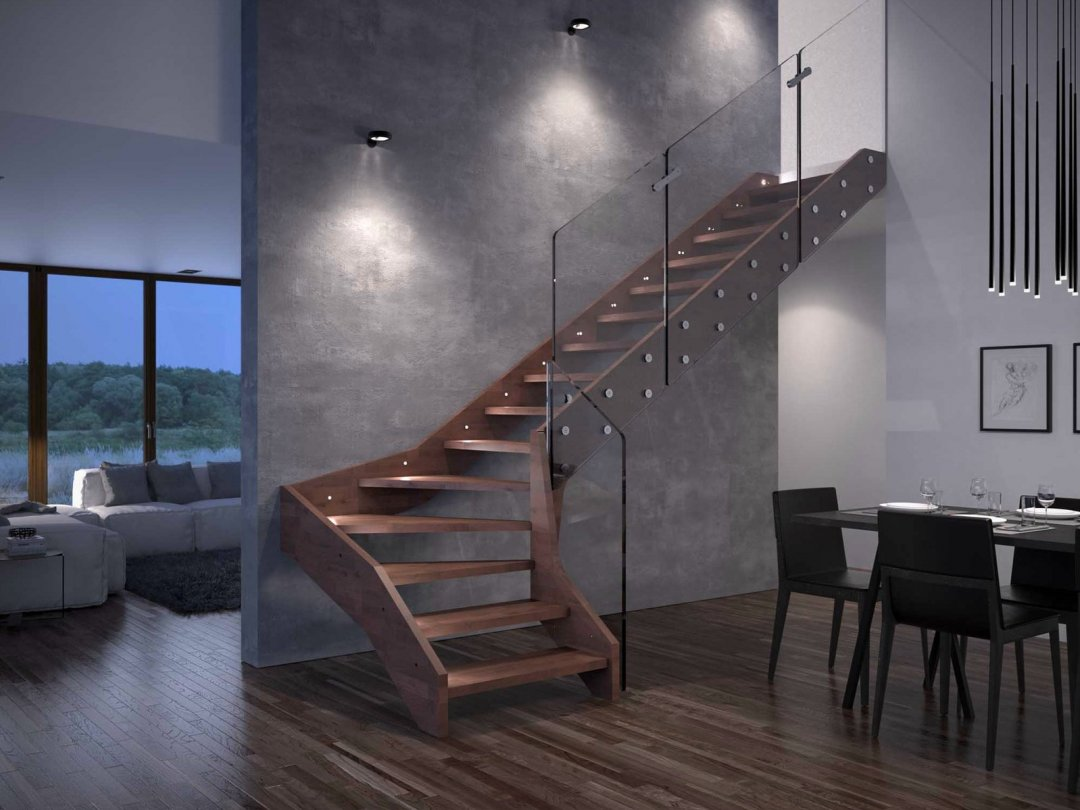 Embelezando seu ambiente: Os diferentes tipos de escadas