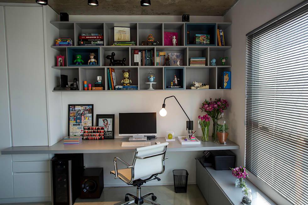 Iluminação do escritório