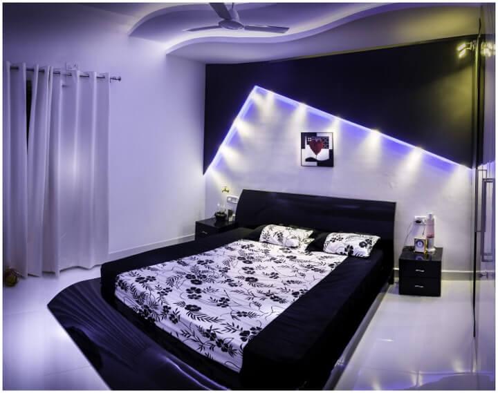 Iluminação e a cor das paredes