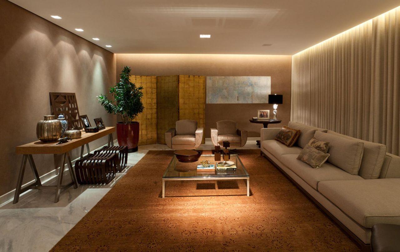 Iluminação para a sala de estar