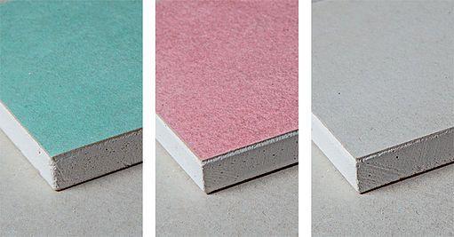 Existem três tipo de placas drywall